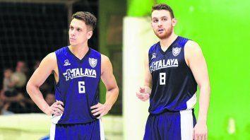 En ellos confían. Jordi Godoy y Maximiliano Yanson son las cartas de gol de Atalaya.