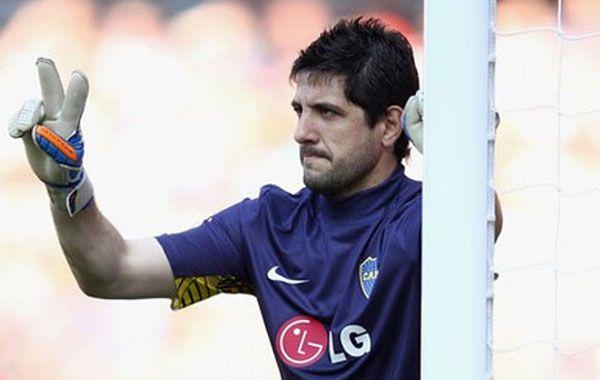 El uno. El ex San Lorenzo volverá a atajar tras retirarse lesionado en la segunda final de la Copa Libertadores frente a Corinthians.