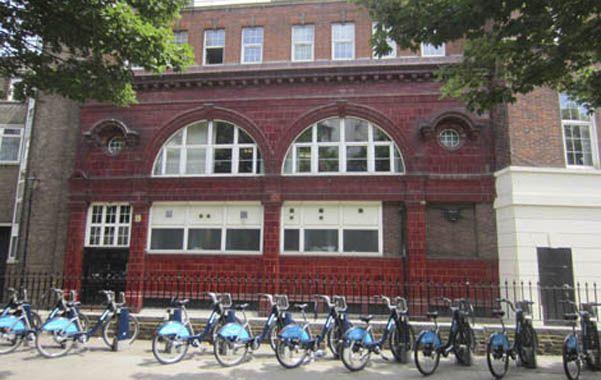 Pedazo de historia. Las instalaciones fueron construidas en 1906.