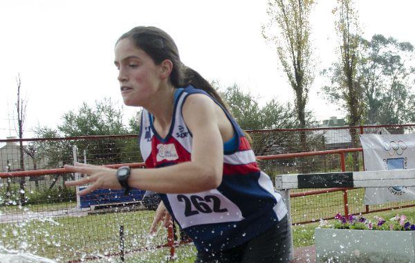 Sello. Carolina Lozano se convirtió en la tercera argentina en alcanzar la final.
