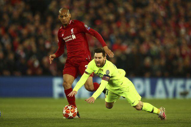 Messi se quedó afuera de la final de la Champions tras una durísima derrota