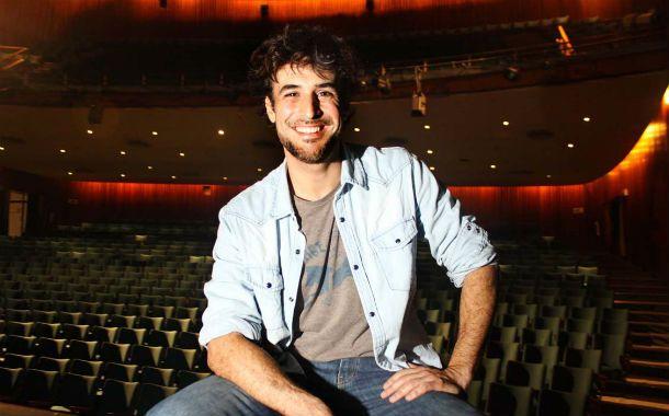 """El protagonista. Esteban Meloni dijo que la obra que se verá hoy en La Comedia """"tiene muchas interpretaciones""""."""