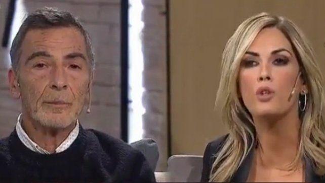 Mano a mano. El actor Gustavo Garzón defendió al gobierno ante las críticas de Viviana Canosa.