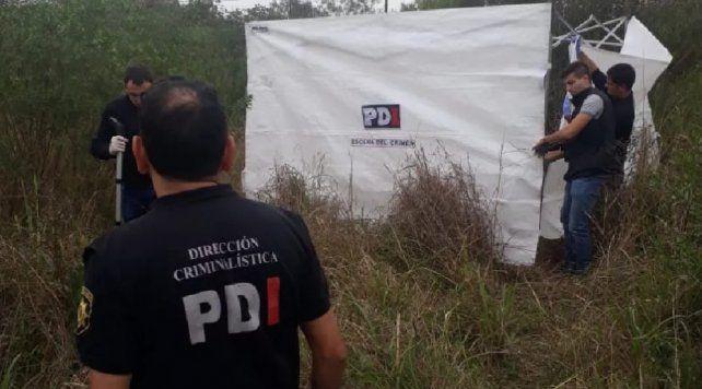 El cuerpo del joven fue hallado esta tarde en un descampado de la ciudad de Santa Fe. (Foto: UNO Santa Fe)
