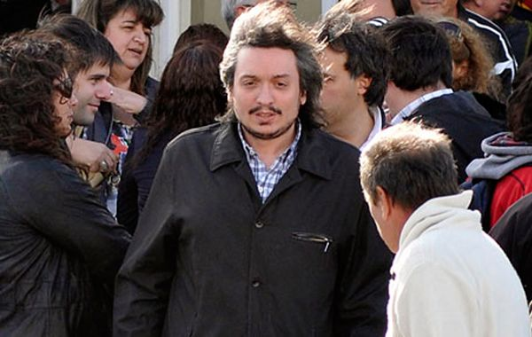 Máximo Kirchner tuvo un fuerte respaldo del jefe de Gabiente Aníbal Fernández.