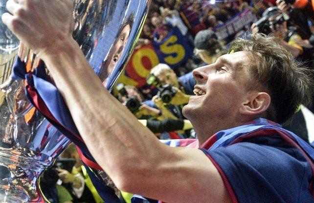 Fin de ciclo. Messi escribió una página gloriosa en Barça.