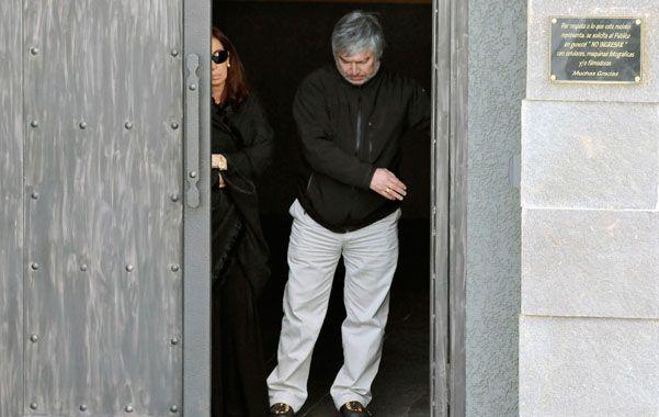 Secretos. Báez complica el futuro judicial de la familia Kirchner.