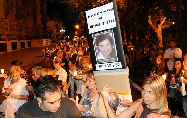 Familiares y amigos ya realizaron otras marchas reclamando respuestas. (foto: Francisco Guillen)