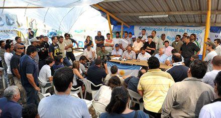 La CGT San Lorenzo define hoy si para los puertos del cordón industrial