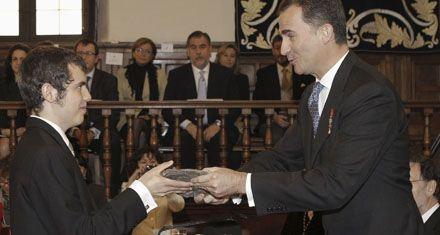 Entregaron el Cervantes al nieto del antipoeta Nicanor Parra