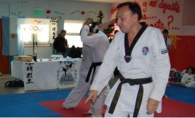 Carlos Filippa fue entrenador de la selección argentina de taekwondo.