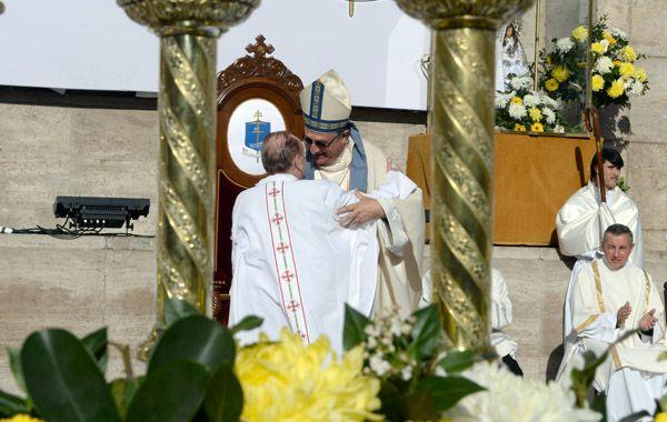 El arzobispo Martín en su asunción