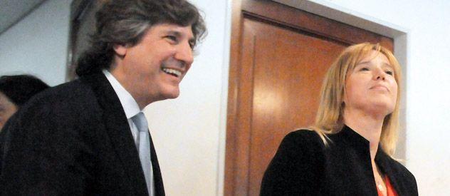 Boudou celebró la elección de Cristina Alvarez Rodríguez en el PJ.