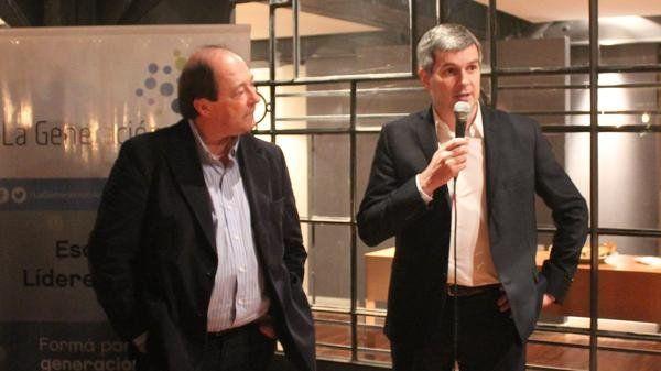 Ernesto Sanz y Marcos Peña