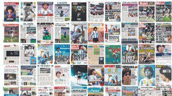 Medios de todo el mundo dedicaron sus tapas a la muerte de Diego Maradona