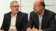 Perotti le renueva la confianza a Sain pese a los malos resultados en Seguridad.