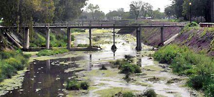 Aprobaron técnicamente las obras del arroyo de Cañada de Gómez