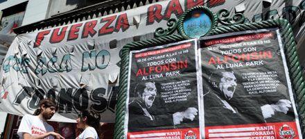 A 25 años, la UCR recuerda la vuelta de la democracia y homenajea a Alfonsín