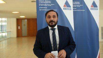 El fiscal rosarino Adrián Spelta.
