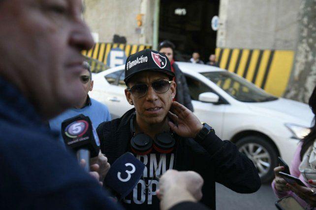 El volante llegó a Rosario para cumplir su sueño de jugar en Newells.