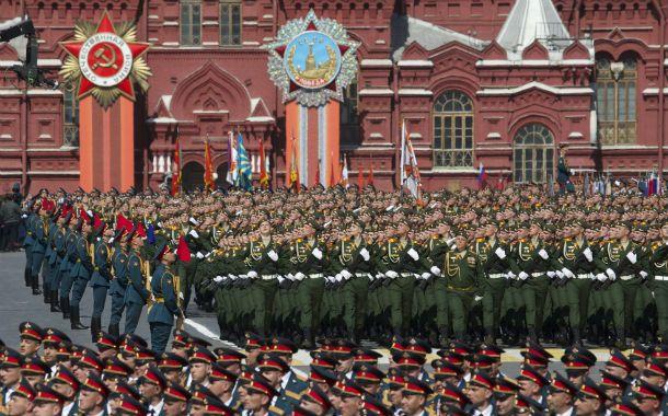 Gran Exhibición. Rusia y las ex repúblicas soviéticas conmemoran el fin de la gran guerra el 9 de mayo