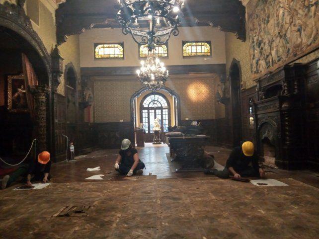 Las tareas de renovación son donadas a la ciudad en el marco de una articulación con el sector privado.