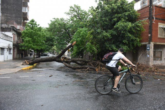 Lanzan una alerta meteorológica por vientos intensos para Rosario