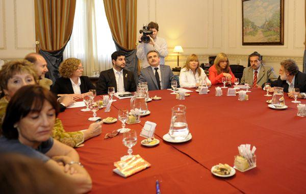 Ciciliani dijo que le exigirán al Frente para la Victoria compromisos en la lucha contra el narcotráfico. (Foto: C.M.Lovera)