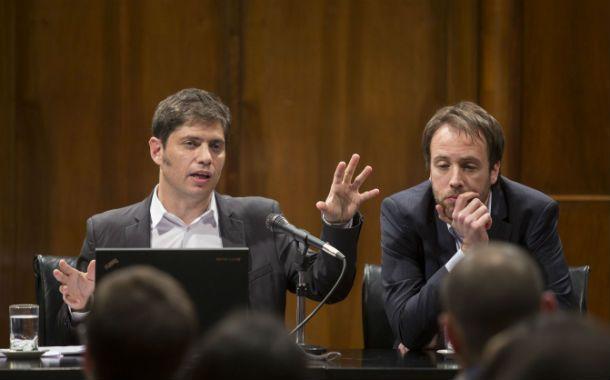 Deuda. Kicillof y Alvarez Agis ratificaron el pago del Boden 2015.