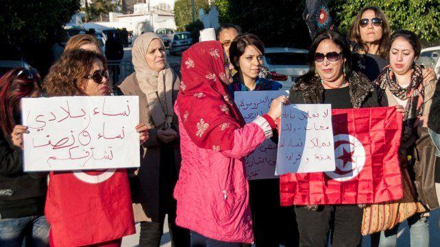 Protestas tunecinas. Hoy hubo descontento en ambos países.