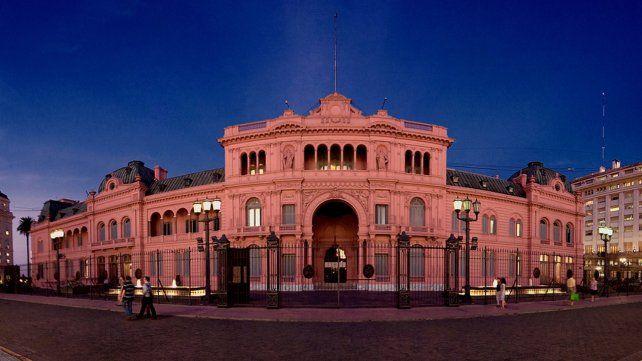 La Casa Rosada busca empleados para el Museo.
