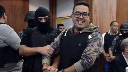 Máximo Ariel Cantero es considerado el líder del grupo que llegó a juicio oral y público por una serie de ataques a balazos contra blancos judiciales.
