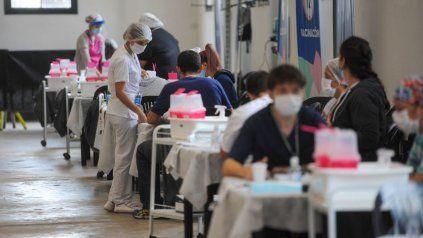 La ex Rural sigue siendo uno de los centros de vacunación.