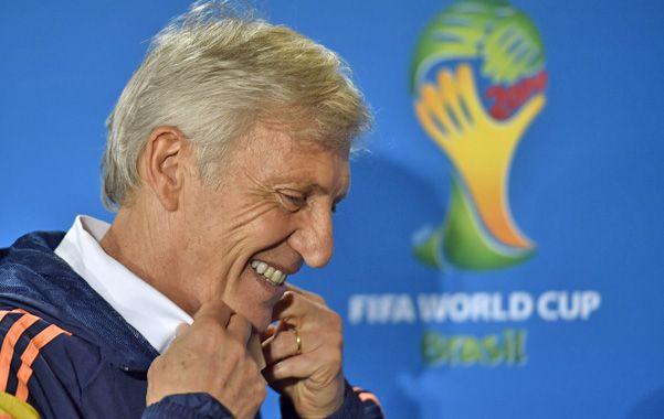 Confiado. El técnico argentino volverá a dirigir en el Mundial