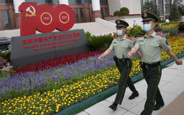 Las autoridades chinas han cerrado al público la plaza central de Tiananmen en Beijing
