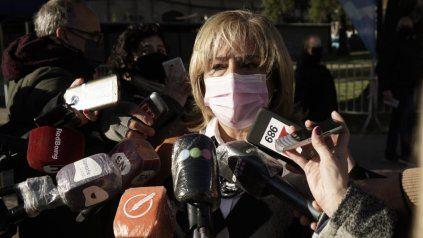 La ministra de Salud Sonia Martorano.