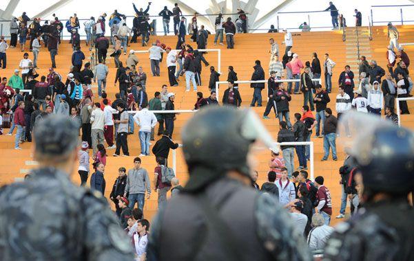 El disparador. La muerte del simpatizante de Lanús en el ingreso al estadio Ciudad de La Plata derivó en la prohibición.