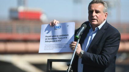 Rossi criticó con dureza a Perotti en un acto en la ciudad de Santa Fe.