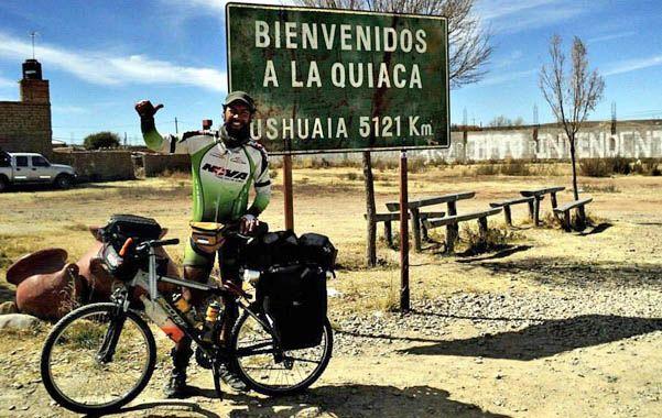Trotamundos. Cinco meses le llevó a Fluxa recorrer 7 mil kilómetros en Argentina. Ahora va por más.