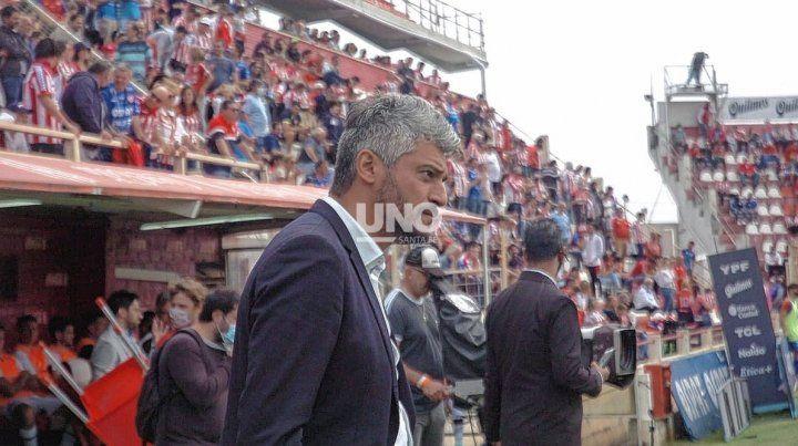 Gustavo Munúa se atrevió a ponderar las virtudes del plantel con el que cuenta Unión en la actualidad.