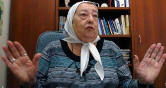 Bonafini dijo que su hija trabajó en Madres para que no se manche el nombre de sus hermanos