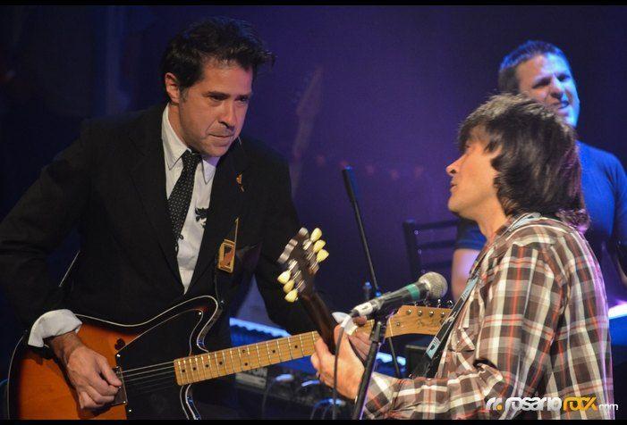 Debernardi y Morelli hicieron Rosario de pasiones. (Foto: Gastón Valdez. Rosariorock.com