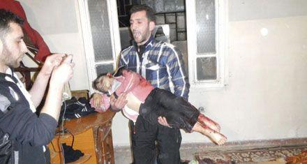 El régimen sirio cometió una brutal masacre contra mujeres y niños