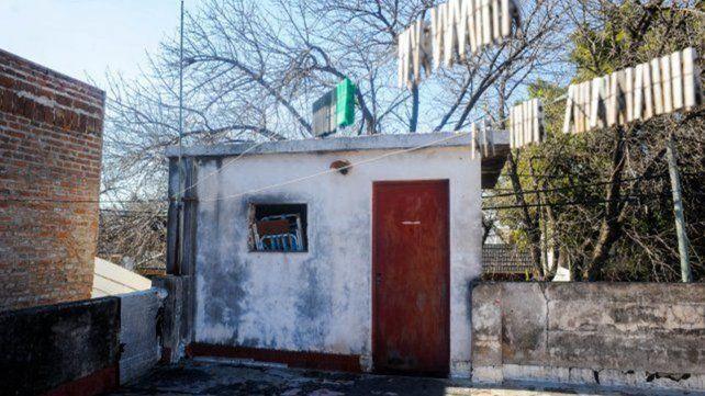 La habitación donde María Eugenia estuvo cautiva durante 23 años.