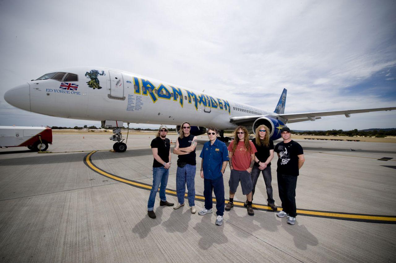 La banda heavy llegará en marzo a la Argentina.