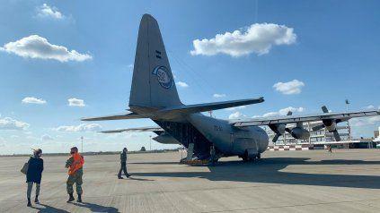El Hércules C-130 participará de los ensayos previos al desfile aéreo.