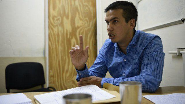 Ramón Machuca difundió un video donde denunció una violenta requisa del SP.