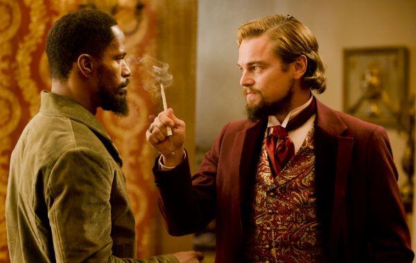 Camino a la perdición. Django es interpretado por Jamie Foxx