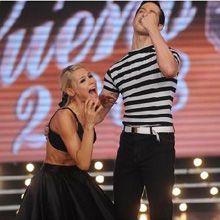 Pampita le ganó a Callejón, y es la primera finalista de Bailando por un sueño
