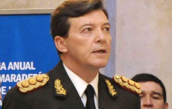 Dio la cara. El gobierno buscó bajar la presión mediática sobre el jefe militar.